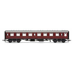 BR, Mk1 Coach Second Open, E4811, Maroon (no crest) - Era 5