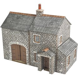 N Scale Crofter's Cottage