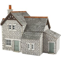 00/H0 Scale Gardener's Cottage