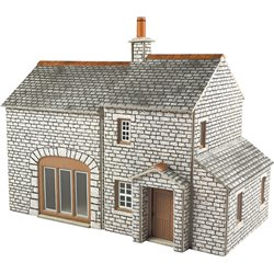 00/H0 Scale Crofter's Cottage
