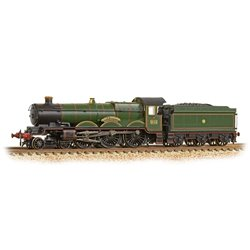 GWR 'Castle' 5044 'Earl of Dunraven' GWR Lined Green