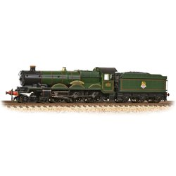GWR 'Castle' 5041 'Tiverton Castle' BR Lined Green (EE)