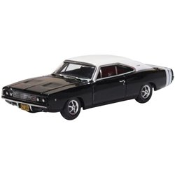 Dodge Charger 1968 Black/White