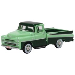 Dodge D100 Sweptside Pick Up 1957 Forest Green/Misty Green