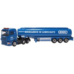 Oxford Diecast Scania Highline Tanker DHL/JET