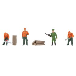 Forestry Workers (4) Figure Set