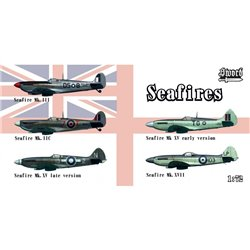 Supermarine Seafires (set of 5) - 1/72