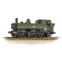 GWR 64XX Pannier Tank 6419 BR Lined Green (Late Crest) Weathered