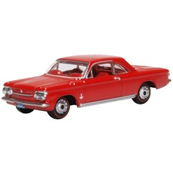 Chevrolet Corvair Coupe 1963 Riverside Red