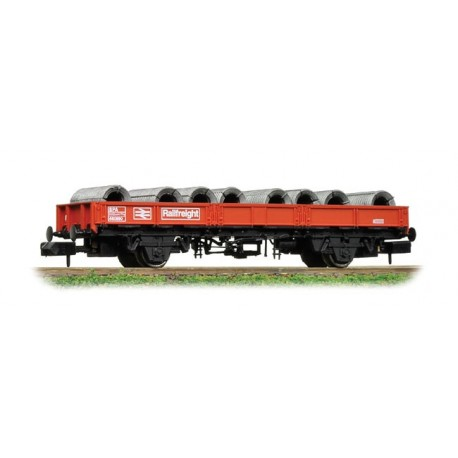 SPA Wagon with Steel Coils Railfreight Red.
