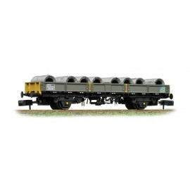 SPA Wagon with Steel Coils Railfreight Metal Sector