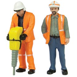 Lineside Workers A - 2 figures set