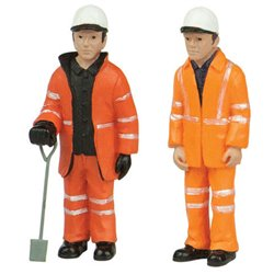 Lineside Workers B - 2 figures set