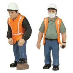 Lineside Workers C - 2 figures set