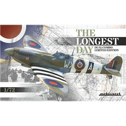 Supermarine Spitfire Mk.IX The Longest Day - 1/72 model kit