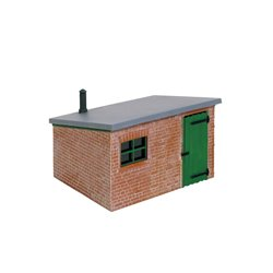 O gauge Brick Line-side Hut
