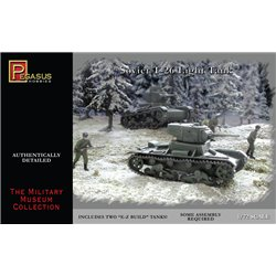 T-26 Light Tanks (2 per box) - 1/72