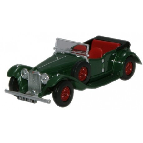 Alvis Speed Twenty/Cross & Ellis British Racing Green