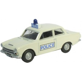 Ford Cortina MK1 Police White