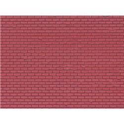 Vollmer 46033 HO Red brick moulded plastic