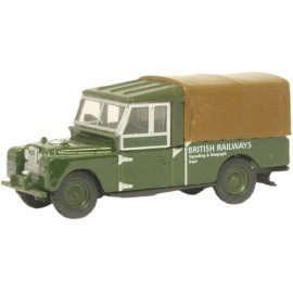 "Land Rover 109"" Canvas British Railways"