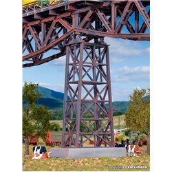 HO Steel viaduct center pillar