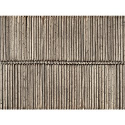 3D Cardboard Sheet Timber Wall 25 x 12.5 cm