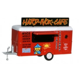 Mobile Trailer Hard Wok Cafe