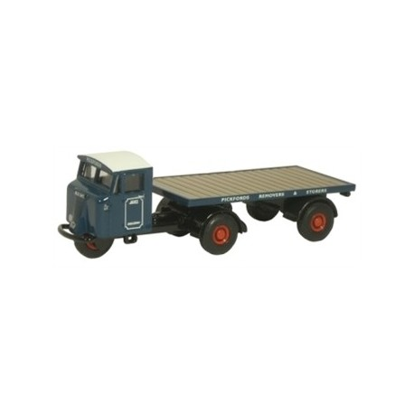 Mechanical Horse Flatbed Trailer Pickfords