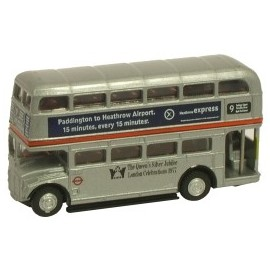 Routemaster Bus in LT Silver Jubilee livery