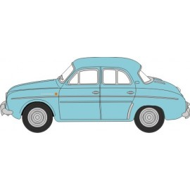 Light Blue Renault Dauphine