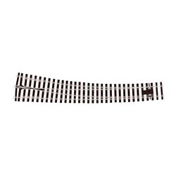 O Gauge Curved Turnout Right Hand Electrofrog