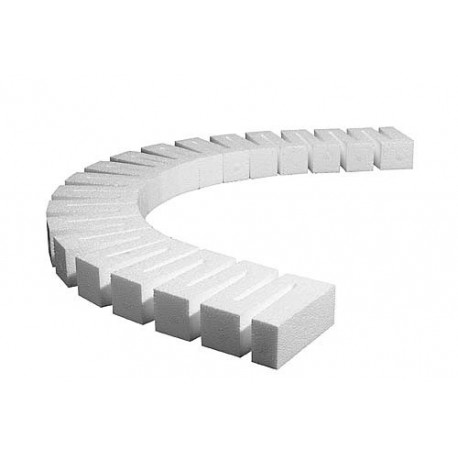 "Pack of four 0.5"" Risers - 24"" long"