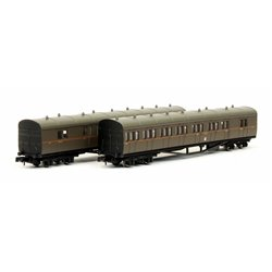 B Set Coach Pack GWR Twin Cities