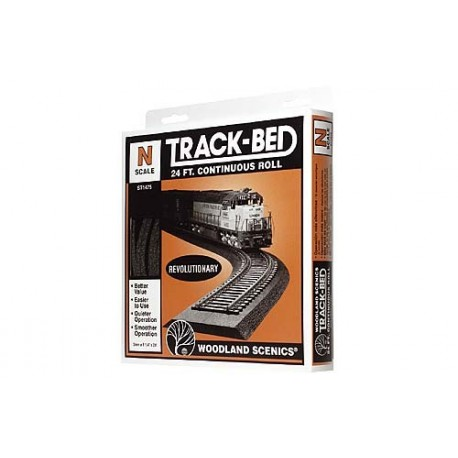 N Scale Trackbed Roll 24ft.