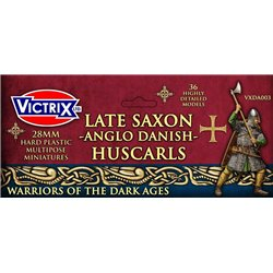 Huscarls - Late Saxons/Anglo Danes (x36) - 28mm