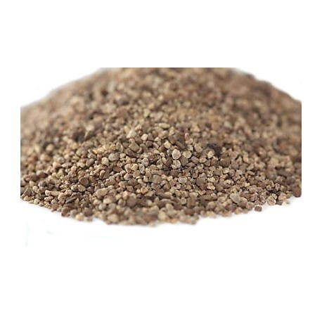 Fine brown chipping