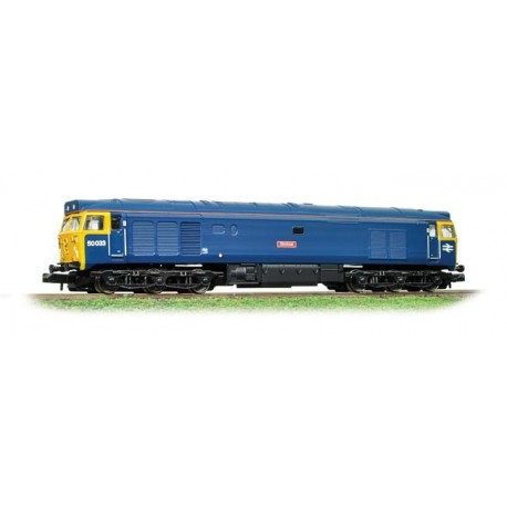 Class 50 50033 'Glorious' BR Blue with Full Yellow Ends