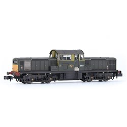 Class 17 D8511 BR Green (Small Yellow Panels) Weathered