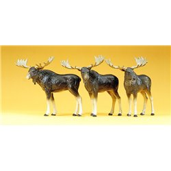Circus Moose (3) Figure Set