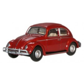 VW Beetle Ruby Red