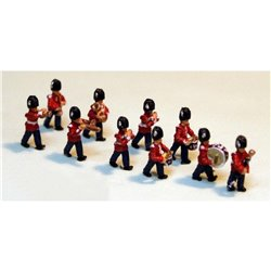 10 Guards Marching Band (N Scale 1/148th)