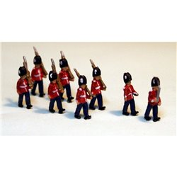 A111p Painted 8 Guards Marching N Scale 1:148