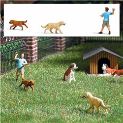 Retrieve game with dogs