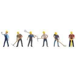 Quarry Workers (6) Figure Set