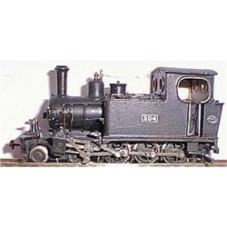 Hunslet W4D 4-6-0 tank loco Unpainted Kit OO Scale 1:76 (chassis not included)