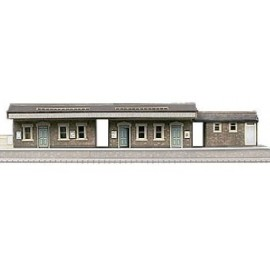 Island Platform Building H: 62mm (345 x 86mm)- Card Kit