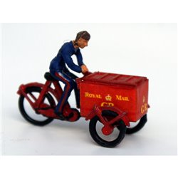 Royal Mail Tri-Cycle and box including transfers - Unpainted