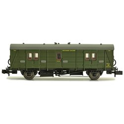 Maunsell Coach SR Brake Van Lined