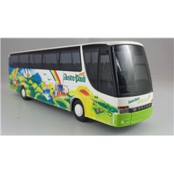 HO gauge 1:87 scale Setra Coach by Rietze. (used)